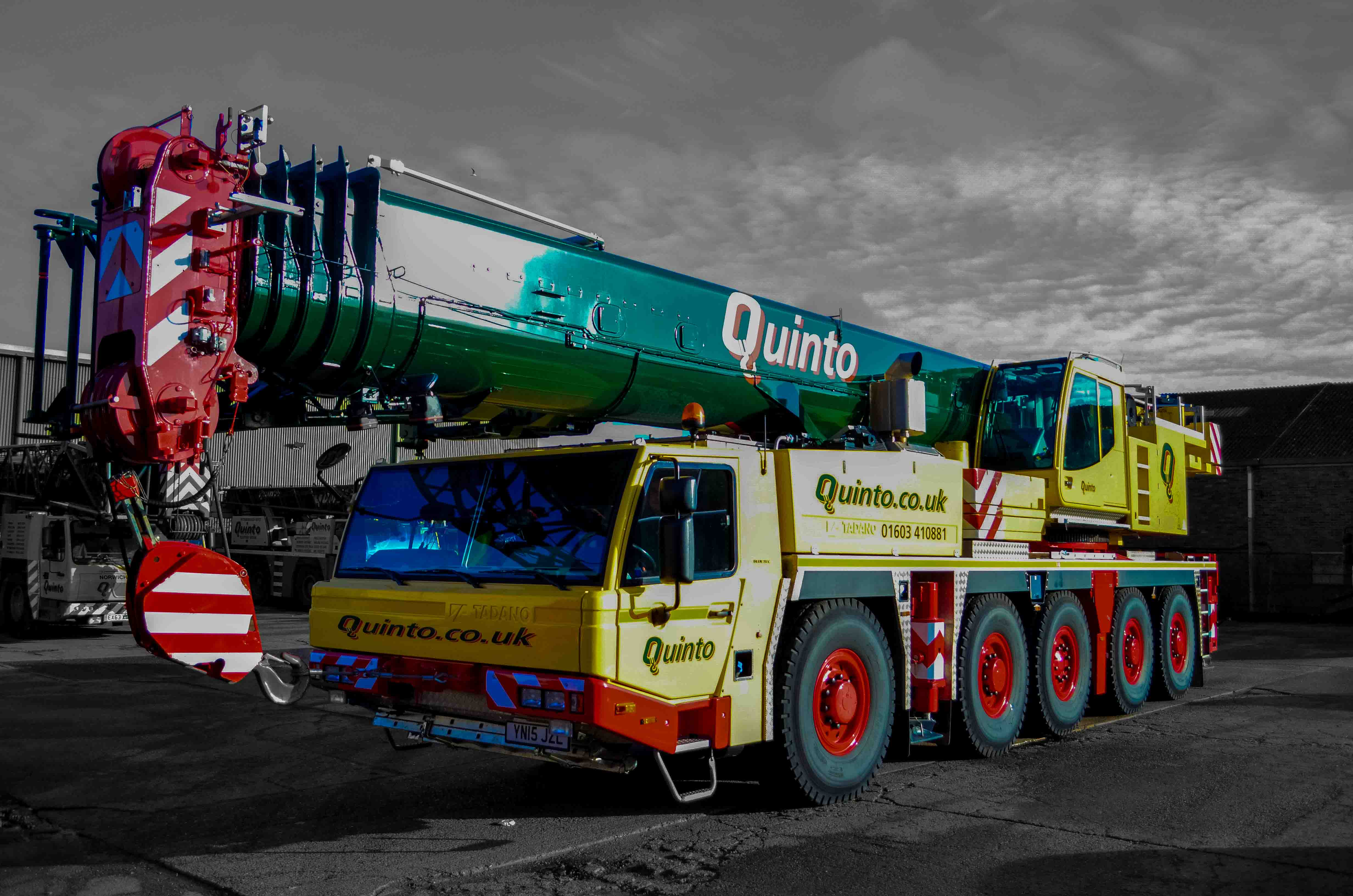 Quinto Crane and Plant - Crane Hire and Contract Lifting