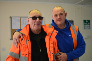 Quinto Crane Operator Training - Trevor McAdden and Rob Paul