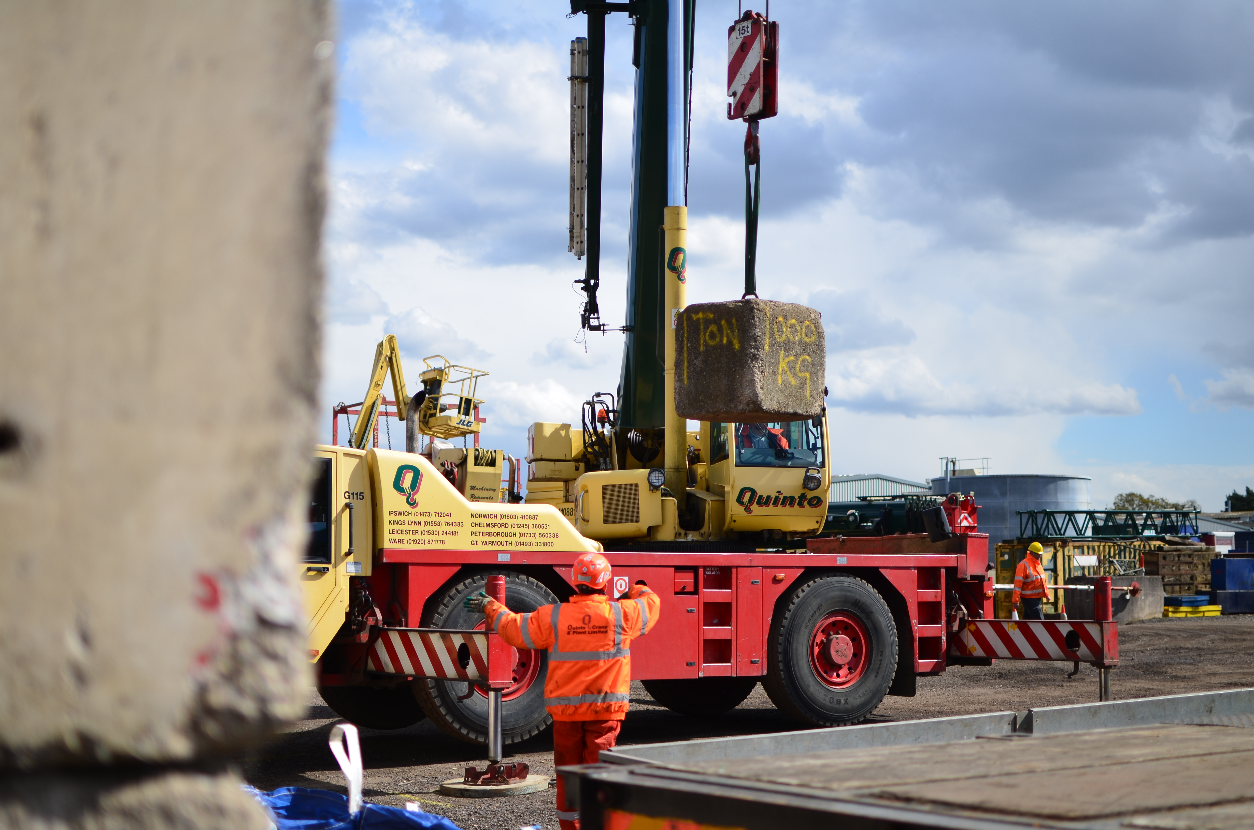 Quinto Training Late Availability – CPCS A40B Slinger Signaller
