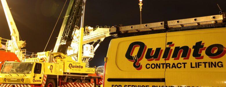Quinto Cranes Mobile Crane contract lift